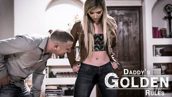 PureTaboo  April Aniston  Daddy's Golden Rules