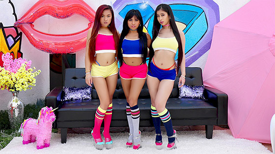 Swallowed  Jade Kush, Ember Snow, Elle Voneva  Triple Threat