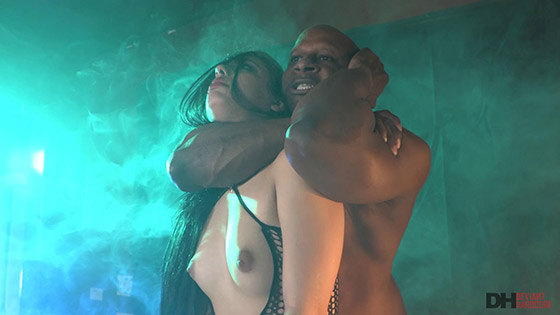 DeviantHardcore  Gina Valentina  Little Gina Valentina is a good submissive slut for her BBC master