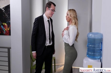 Naughtyamerica - Naughty Office - Nikki Benz, Justin Hunt