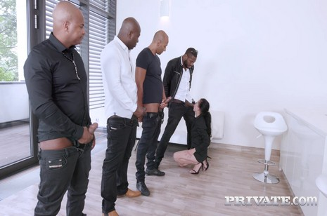 Private - Blacks on Slu - Enjoys interracial gangbang