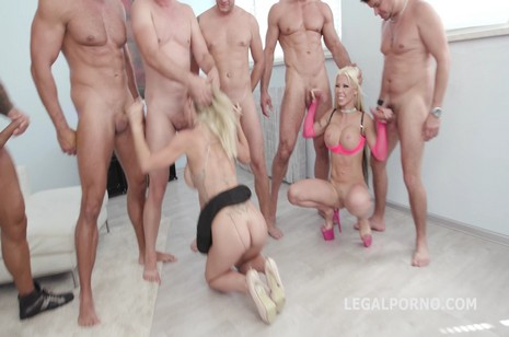 Legalporno - Giorgio Grandi - Just Beauty #2 Natalie Cherie & Barbie Sins Double Anal Battle with DAP, ATOGM, Anal Fisting, Messy cumshot GIO752
